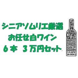 画像1: シニアソムリエ厳選 おまかせ白ワイン6本3万円セット