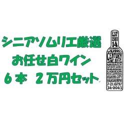 画像1: シニアソムリエ厳選 おまかせ白ワイン6本2万円セット